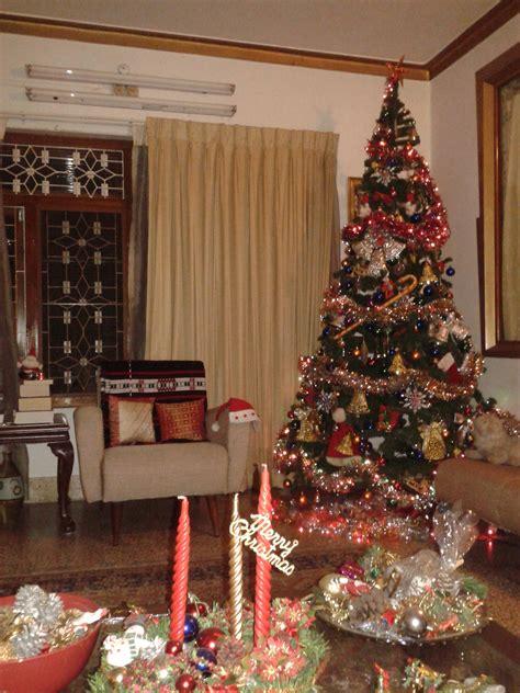 file christmas tree in a home kerala india jpg