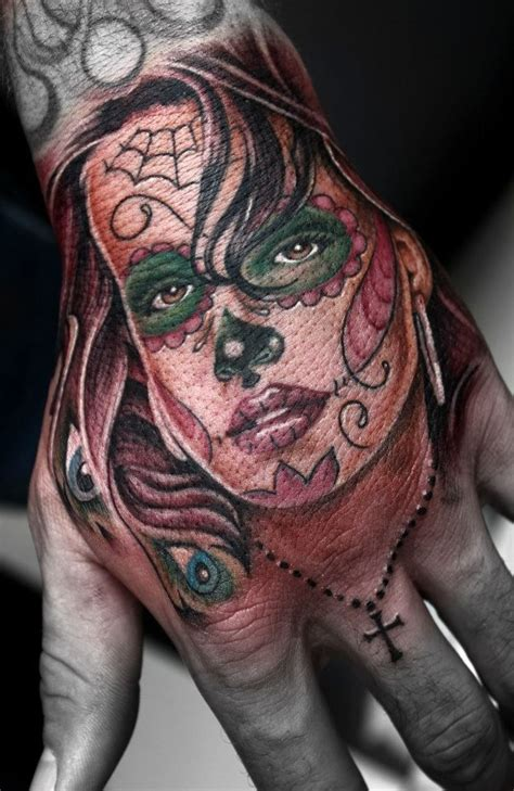 sugar skull finger tattoo 17 best images about sugar skull on