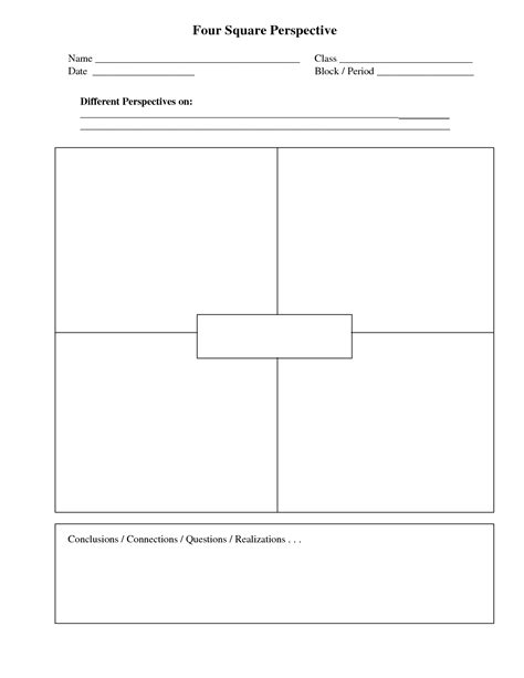 4 square writing template four square writing template printable four square