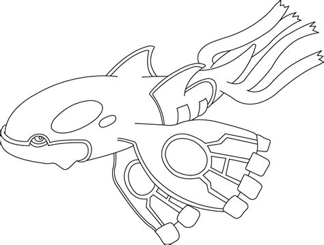 pokemon coloring pages kyogre pokemon kyogre coloring pages images pokemon images