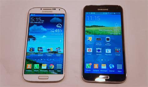 Samsung Galaxy S5 Big samsung galaxy s5 vs galaxy s4 specs photos