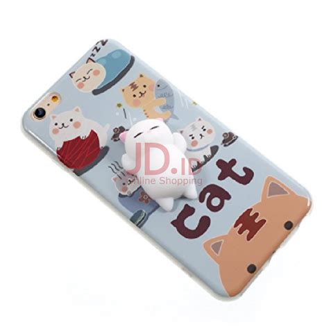 Squishy For Iphone 7 8 jual squishy lazy cat squishy dusty blue iphone