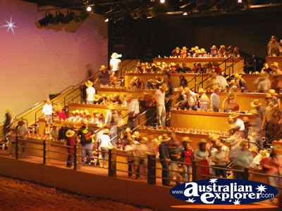 Outback E Gift Card - australian outback spectacular audience finding their seats virtual postcard