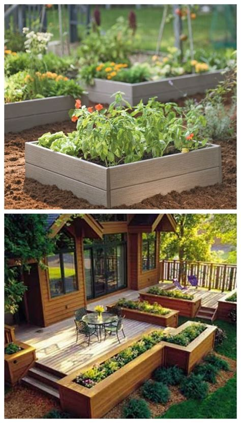 17 Diy Garden Ideas Beautyharmonylife Garden Idea Images