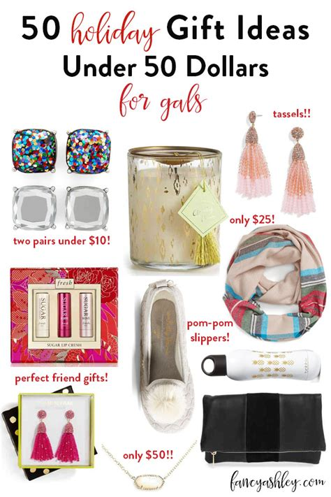 fifty unique fun and original gifts for women under 50