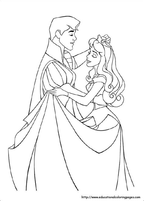 educational coloring pages princess sleeping coloring pages free for