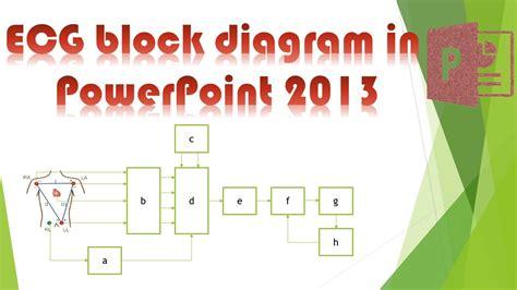 ecg tutorial powerpoint powerpoint tutorial how to draw ecg block diagram in