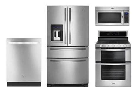 Whirlpool Stainless French Door Refrigerator Kitchen