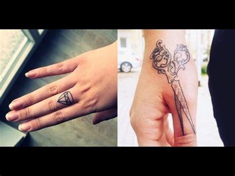 finger tattoo youtube my fingertattoo handtattoo youtube