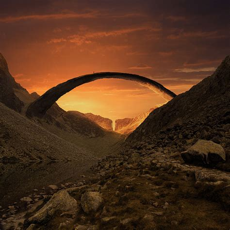 Awe Inspiring | awe inspiring parallel worlds by karezoid michal karcz