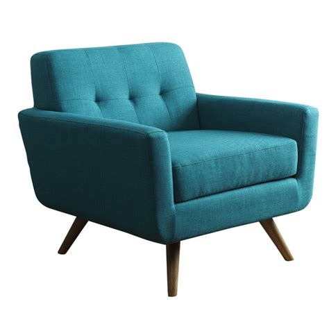 teal tufted accent chair abbyson living paisley tufted fabric arm chair in teal