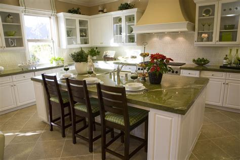 white kitchen island with seating 39 fabulous eat in custom kitchen designs