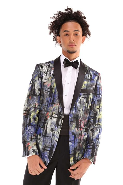 colored tuxedos milroy s tuxedos multi color ginovia tuxedo