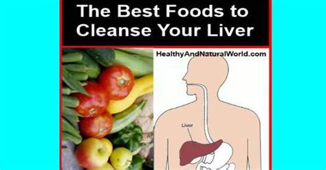 Fastest Way To Detox Your Liver by The Best Foods To Cleanse Your Liver
