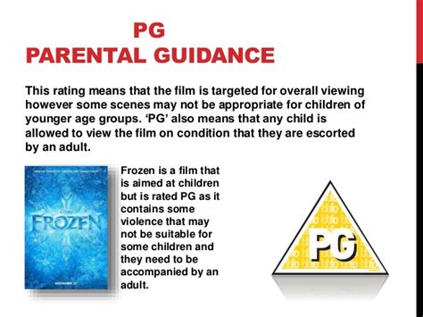 parental rating age ratings for