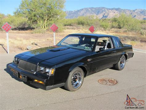 turbo buick grand national 1987 buick regal grand national 3 8l turbo v6 only 46k