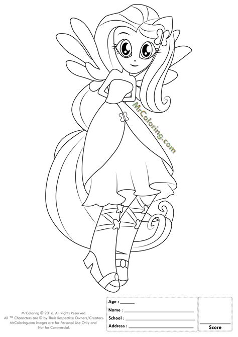 My Little Pony New Equestria Girls Coloring Pages My Pony Equestria Coloring