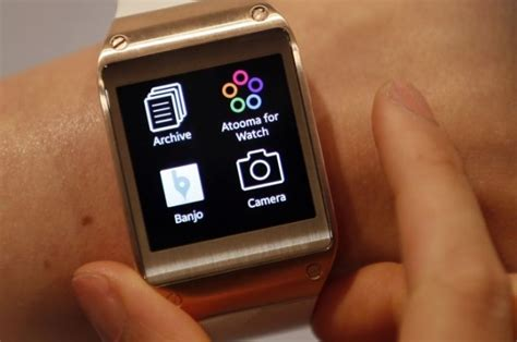 Smartwatch Galaxy Gear samsung galaxy gear smartwatch launched in india at rs 22 990 technology news
