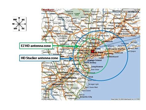 hd antenna map best tv antenna for new york ny tv stations