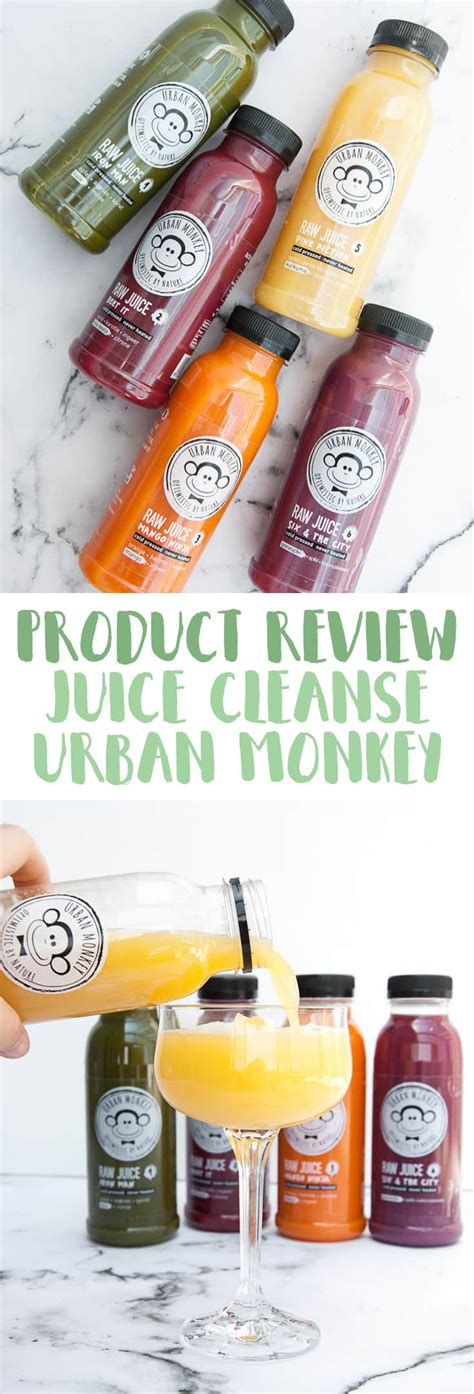Post Vegan Binge Detox by Post Vacay Juice Cleanse With Monkey Elephantastic