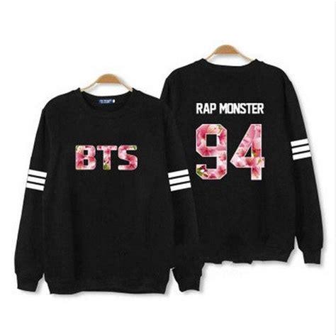 Sweater Bts New Logo Hitam Zemba Clothing unisex bts bloom j jungkook hoodies new v kpop