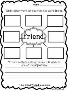 13 best images of friends worksheets for preschoolers