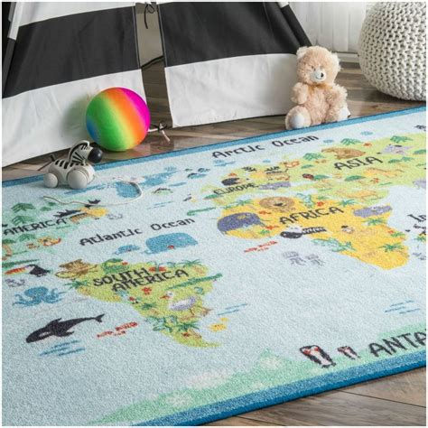 best 25 world map rug ideas on