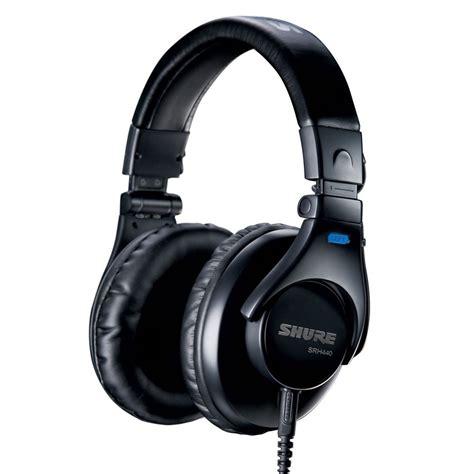 Headphone Shure shure srh440 professional studio headphones
