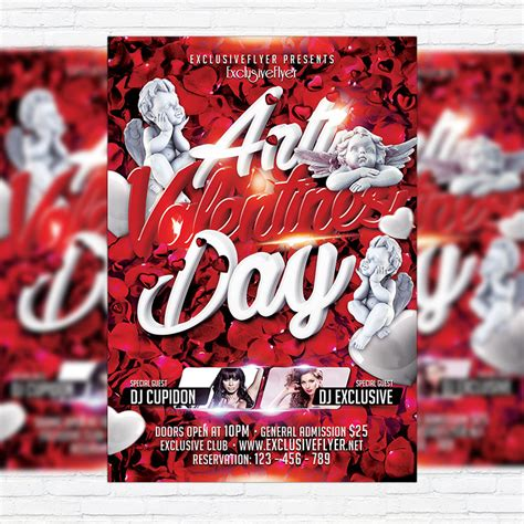 Anti Day Card Template by Anti S Day Premium Flyer Template