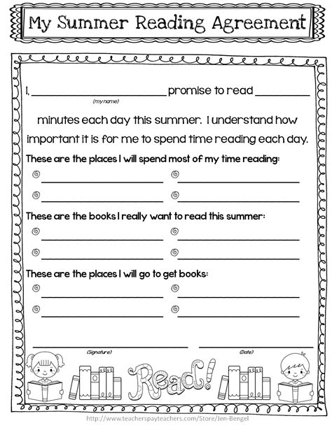 Parent Letter For Reading Log Monthly Reading Logs For Kindergarten Search Results Calendar 2015