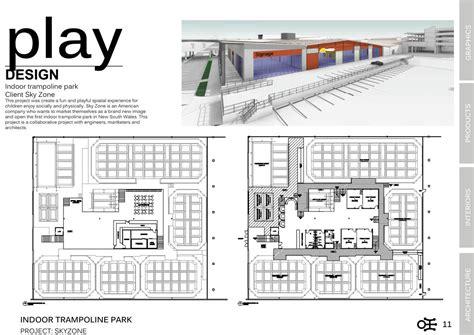 Floor Layout Designer Skyzone Indoor Trampoline Park Ivan Lo Portfolio The Loop
