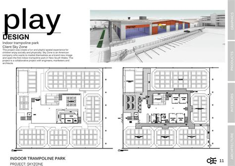 Floor Plan Of by Skyzone Indoor Trampoline Park Ivan Lo Portfolio The Loop