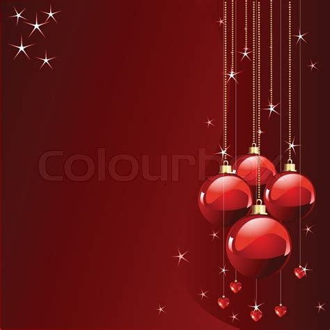 red colors christmas   years place card stock vector colourbox