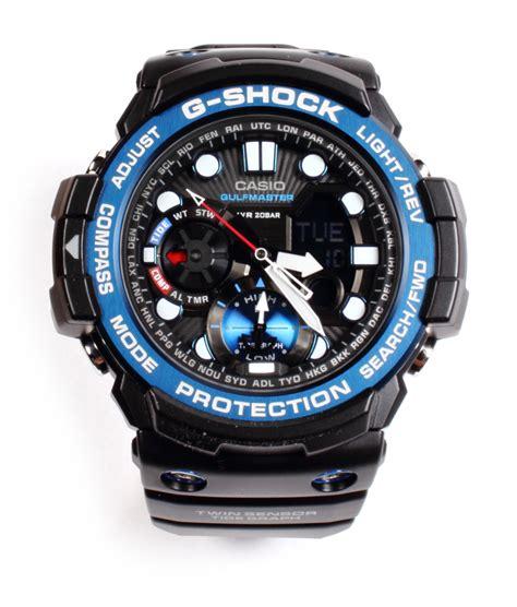 Gshock Gulfmaster casio g shock gulfmaster gn1000b 1a sensor tide moon