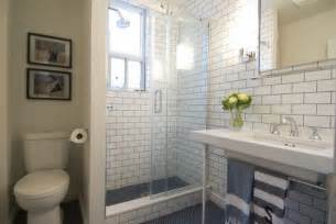 Subway Tile Bathroom Ideas by And Simple Subway Tile Bathroom Ideas With Light Gloss