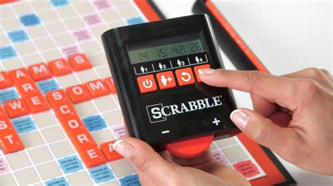 scrabble electronic scrabble electronic scoring