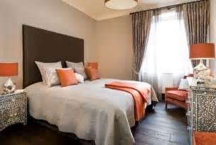 orange bedrooms decorating with orange accents inspiring interiors