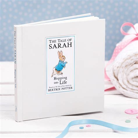 picture book gift personalised tale of rabbit gift boxed book by