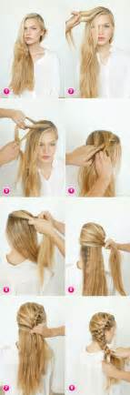 Of different gorgeous braid ideas some of them are pretty easy to do