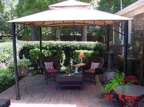 Patio Canopy Gazebo Tent Roof Grill Shelter Gazebo 8x5 Outdoor Canopy Bbq Patio Deck Tent Yard Pop Up Canopies