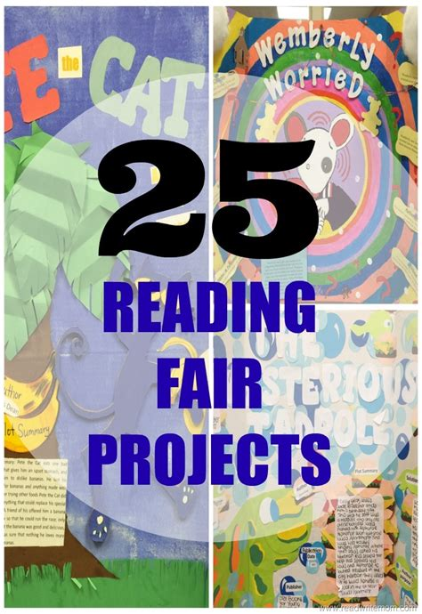 report on visit to book fair 25 reading fair projects for early elementary