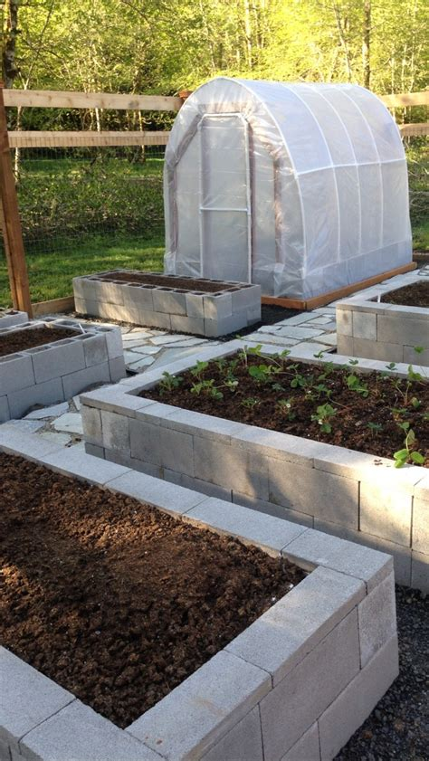 cinder block raised bed how to use cement blocks in practical outdoor projects