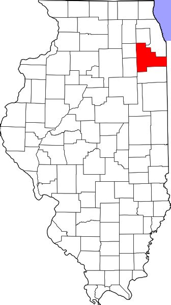 map of joliet il file map of illinois highlighting will county svg