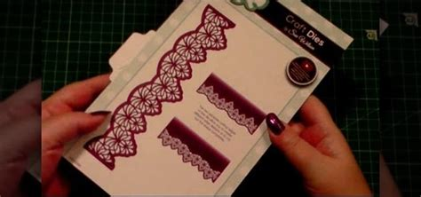 How To Make A Paper Die - how to make a tone on tone ivory corvus die card 171 papercraft