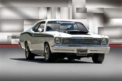 1968 plymouth 383 duster photograph by dave koontz