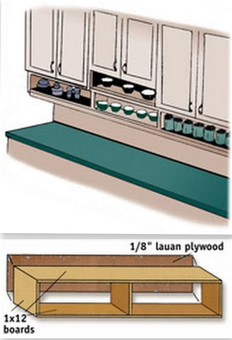 under cabinet shelf kitchen build under cabinet shelves kitchen pinterest