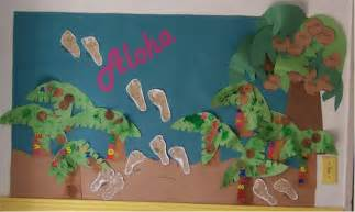 Botanical Gardens Summer Camp - summer garden display board preschool kids art decorating ideas