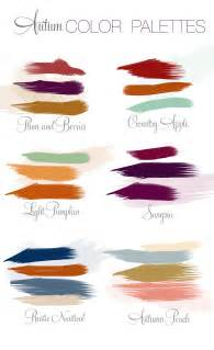 fall color pallet autumn color palette inspiration virginia wedding