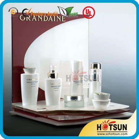 Display Acrylik Kosmetik arbeitsplatte acryl kosmetik display acrylprodukte led
