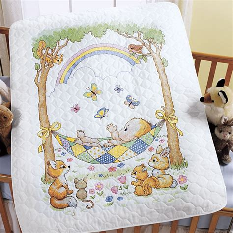 Cross Stitch Baby Quilt by 1000 Images About Cross Stich On Births